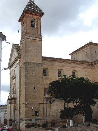 Fotografía de la Iglesia de Encinas Reales