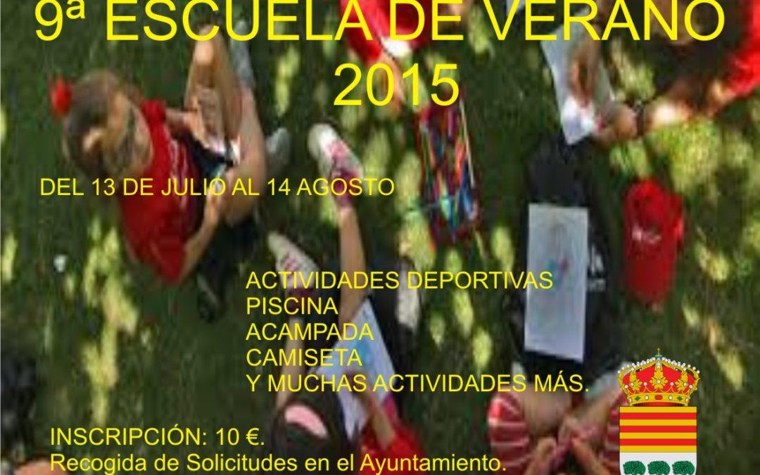 9ª ESCUELA DE VERANO 2015 1