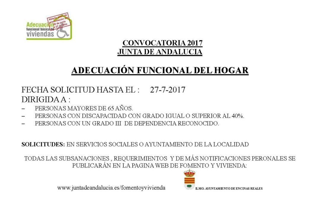 Programa de adecuación funcional básica de viviendas 2017 1