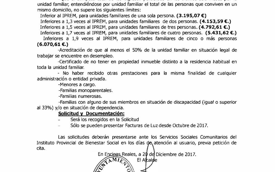Bando Pobreza Energética 2017 1