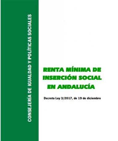 Renta Mínima de Inserción Social en Andalucía 1