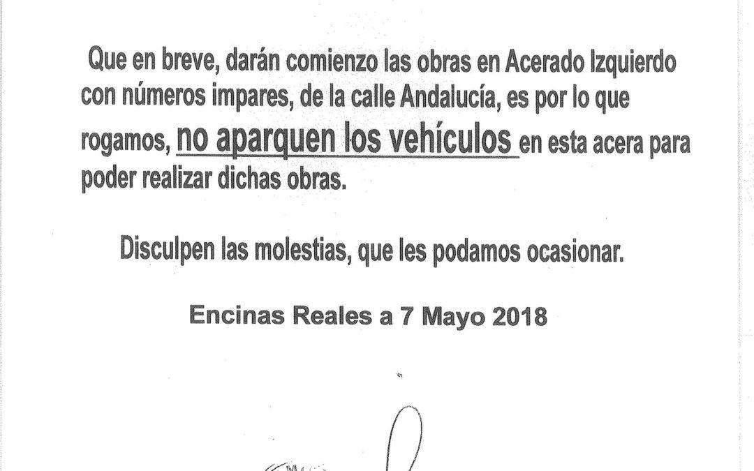 Informa: Calle Andalucía 1