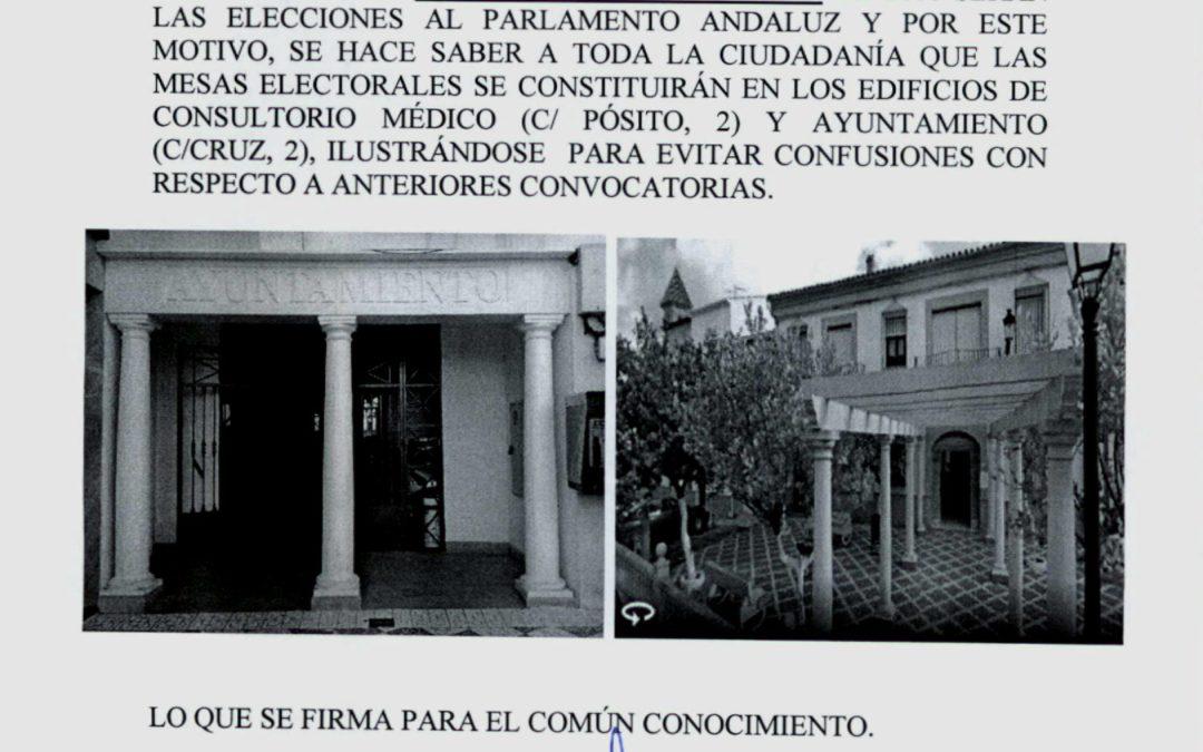 Sede de Mesas Electorales 1