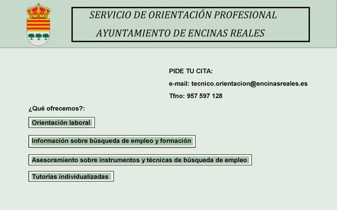 Servicio de Orientación Profesional Ayto. Encinas Reales 1