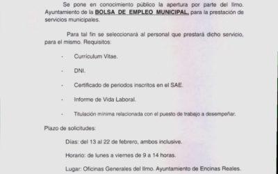 Bando Bolsa de Empleo