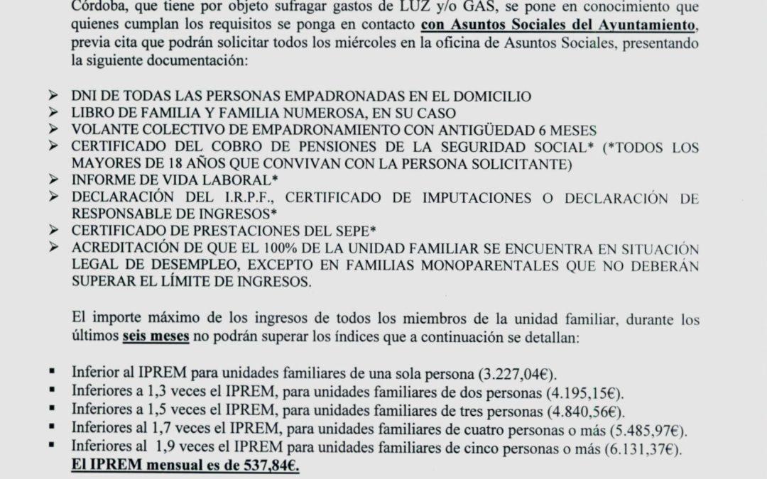 Bando: Pobreza Energética 2019-2020 1