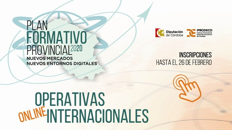 Plan Formativo Provincial: Operativas Internacionales 1