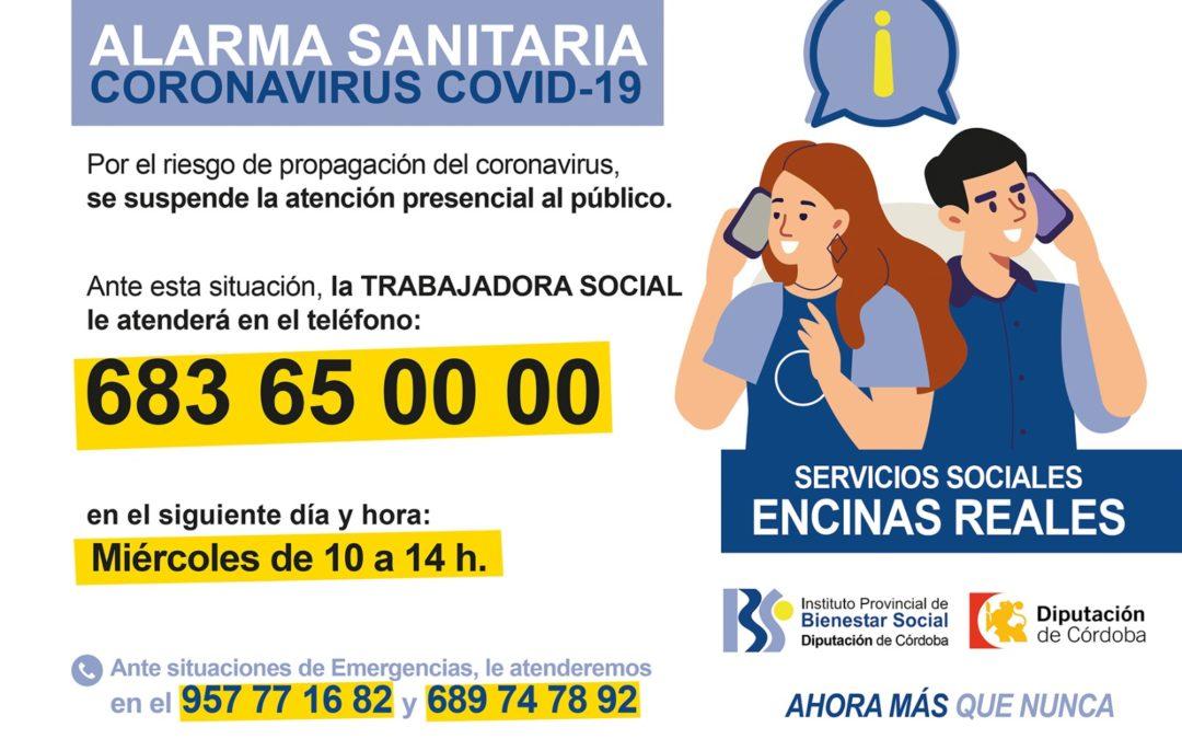 Atención Telefónica Trabajadora Social 1