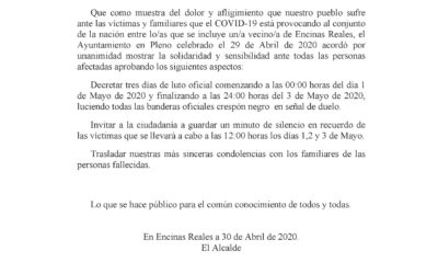 Bando Luto Oficial COVID19